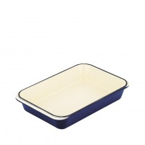 Chasseur Rectangular Roasting Pan 400 x 260mm French Blue (2)
