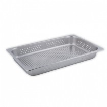 CHEF INOX STEAM PAN 1/1 SIZE 150MM PERFORATED