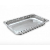 Image of Chef Inox Steam Pan 1/1 Size 100mm Perforated