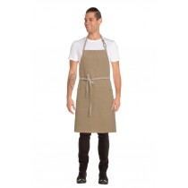Chef Works Apron Bib Austin Natural