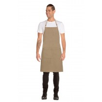 CHEF WORKS APRON CROSS BACK AUSTIN NATURAL DENIM