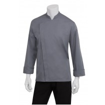 Chef Works Chef Jacket Mens X-Small Lansing Grey