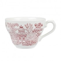 Churchill Vintage Tea/Coffee Cup 198ml Willow Cranberry