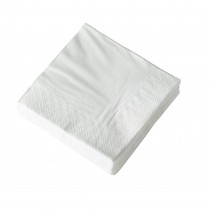 2ply Cocktail Napkin QTR Fold White 2000/Ctn