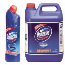 Domestos Bleach Toilet Cleaner 5ltr