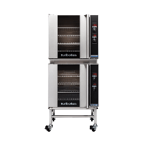 Turbofan 30D Series E32D4/2 Oven Double Stack With Stand Electric