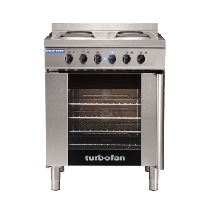 Turbofan – Convection Oven E931M Convection Oven & Cooktop Electric