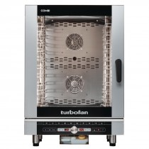 Turbofan 40D Series EC40D10 Combi Oven 10 Tray Digital Control Electric