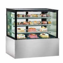 Image of FED Bonvue SL840V Cake & Food Display Square 1200mmL