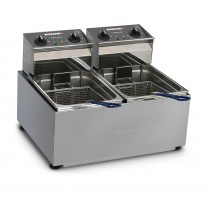 Roband F28 Fryer Countertop Double Pan