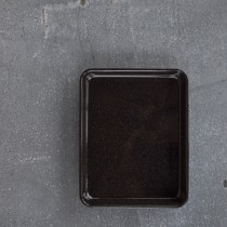 Falcon Enamelware Rectangle Baking Tray 31 x 27 x 3cm Black (2)
