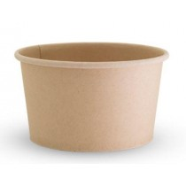 Future Friendly FC12P Food Container 12oz Bamboo 50/Pkt