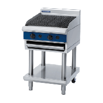 Blue Seal G594-LS Chargrill 600mm With Leg Stand