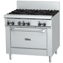 Garland Rest Series GF36-6R Oven Range 6 Burner *Nat Gas*