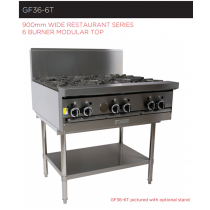 Garland Rest Series GF36-6T 6 Burner Modular Top *Nat Gas*