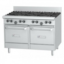Garland Rest Series GF48-8LL Double Oven Range 8 Burner