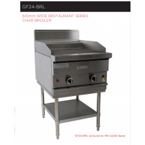 Garland Rest Series GF24-BRL Char Broiler 610mm *Nat Gas*