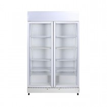 Bromic GM1000LWECO Upright Fridge 2 Door White