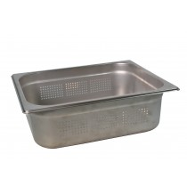 Steam Pan 1/2 Size 100mm Perforated