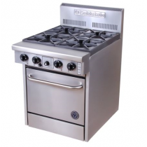 Goldstein 800 Series PF-4-20 Oven Range 4 Burners