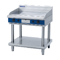Blue Seal GP516-LS Griddle 900mm With Leg Stand *Nat Gas*