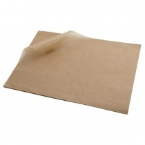 Greaseproof Paper Enviro Brown Kraft 400 x 330mm (800)