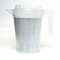 Healthcare Autoplas Jug Graduated W/Lid 1ltr Natural (20)