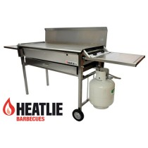 Heatlie HM1150SSP Mobile Stainless Steel BBQ Package