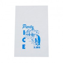 Ice Bags Clear 3.5kg 30 x 46cm x 50um 2000/Pkt