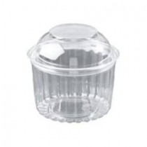 Image of Capri Food Bowl With Dome Lid 455ml 16oz