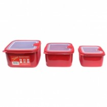 Microwave Containers Set Of 3