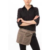 Chef Works Indy Hipster Apron Earth Brown