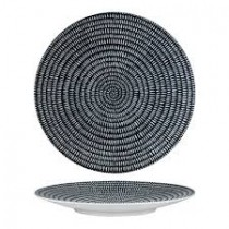 Luzerne Zen Round Coupe Plate 275mm Black Storm (6)