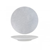 Luzerne Zen Round Coupe Plate Grey Web 205mm (6)