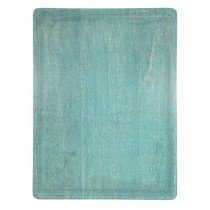 Mangowood Serving Board Rectangular 360 x 180 x 15mm Aqua