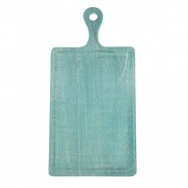 Mangowood Serving Board Rectangular With Handle 260 x 360 x 180mm Aqua (6)