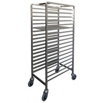 Mantova 0283 Pastry Trolley Zinc 18 Tier Front Loading