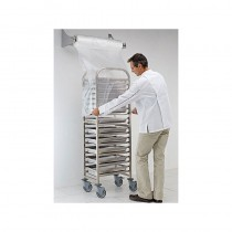 Matfer S/S Wall Mounted Dispenser For Disposable Trolley Covers (1)
