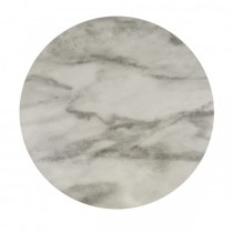Melamine Tray Round 310mm Marble Effect