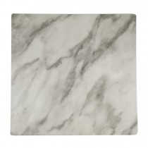 Melamine Tray Square 310 x 310mm Marble Effect