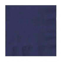 Dinner Napkin QTR Fold Quilted Dark Blue 1000/Ctn