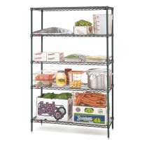 Metro Super Erecta 3 Shelving 5 Tier Wire Shelves 1220mmW