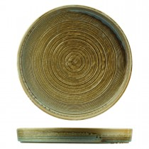 Moda Porcelain Nourish Stackable Plate Fired Earth 305mm