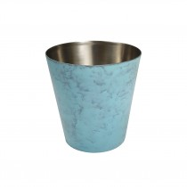 Mini Patina Pot Blue S/S Interior 65 x 65mm (4)