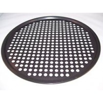 Pizza Plate Non Stick Perforated 300mm