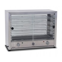 Roband PM100LG Pie Master Pie & Food Warmer 100 Pie With Glass Doors Both Sides