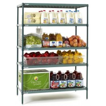 Metro Super Erecta PRO Shelving 5-Tier Polymer Shelves 760mmW