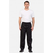 Prochef Chef Pants Draw String Large Black