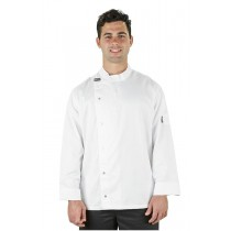 Prochef Chef Jacket Modern Tunic Long Sleeve White