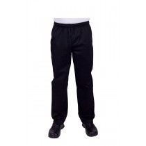 Prochef Chef Pants Draw String Medium Black (1)